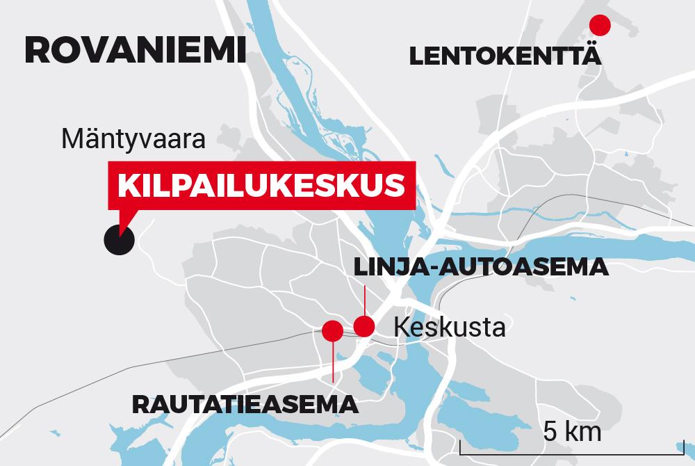 Napapiiri-Jukola 2020 Kartta