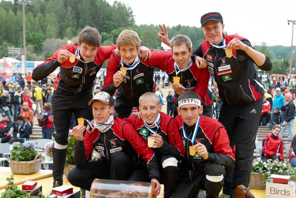 Kalevan Rastin voittajajoukkue