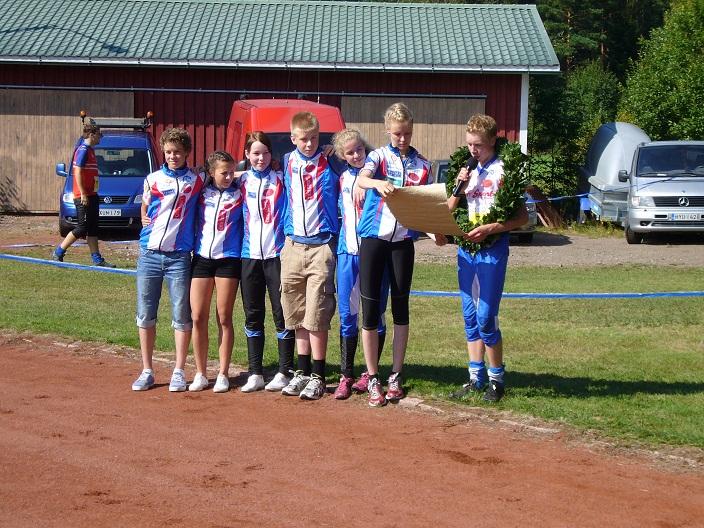 Ounasvaaran Hiihtoseura. Nuorten Jukola 2012 voittaja