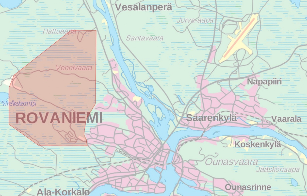 Napapiiri-Jukola Rovaniemi Lappi